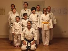 Kinder Karategruppe Freiburg